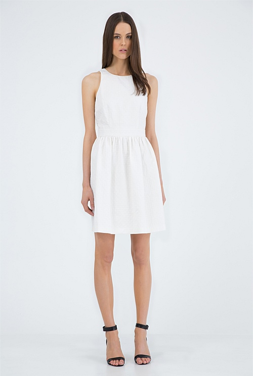 Country Road Textured Dress - $179.00